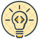 Idea Innovation Process Icon