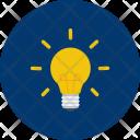 Lamp Idea Brain Icon