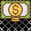 Idea Money Shopping Icon