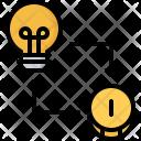 Idea Bulb Exchange Icon