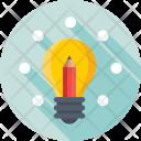 Idea Pencil Business Icon