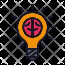 Idea Creative Lamp Icon
