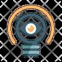 Idea Visualization Invention Icon