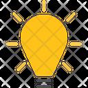 Idea Lightbulb Think Icon