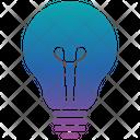 Idea Icon in Gradient Style