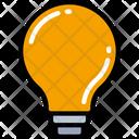 Light Bulb Idea Think Icon