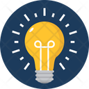 Idea Icon in Rounded Style