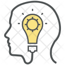 Idea Mind Creative Icon