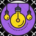 Idea and creative Icon