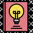 Book Innovantion Idea Icon