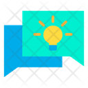 Idea Chatting Icon