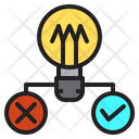 Idea Choice Research Icon