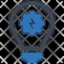 Bulb Develop Gear Icon