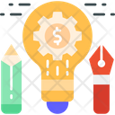 Idea Development Creative Development Finance Creativity Icon