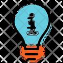 Idea Development Plan Presentation Icon