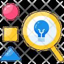 Idea Explore Analyze Analytic Icon