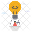 Idea Foreseeing Innovation Idea Prediction Icon