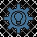 Idea Generate Idea Cogwheel Icon