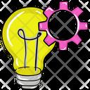Idea Generation New Idea Creativity Icon