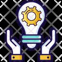 Innovation Idea Development Idea Generation Icon