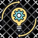 Idea Generation Innovation Innovative Idea Icon
