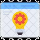 Idea Generation Creative Innovation Icon