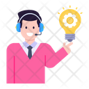 Innovation Idea Generation Customer Services Icon