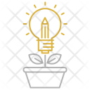 Idea growth Icon