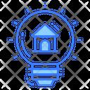 Idea House Light House Icon