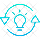 Idea Innovation Skills Icon