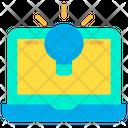 Idea Laptop Icon