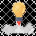 Idea Launch Creative Launch Imagination Icon