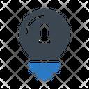 Lock Idea Keyhole Icon