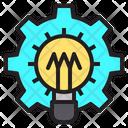 Idea Gear Research Icon