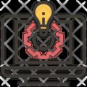 Artificial Intelligence Technology Intelligence Icon