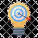 Idea Target Idea Goal Idea Aim Icon