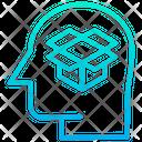 Idea Of The Box Delivery Idea Parcel Icon