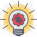 Idea Optimization Cogwheel Icon
