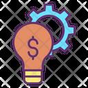 Idea Optimization Dollar Finance Idea Optimization Idea Icon