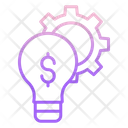 Idea Optimization Dollar Icon