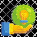 Ownership Bulb Idea Icon