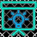 Idea Presentation Icon