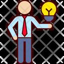 Idea Presentation Business Compare Icon