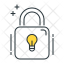 Idea Protection Innovative Idea Secure Idea Icon