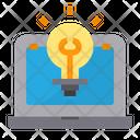 Idea Research Icon