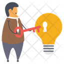 Idea Security Icon