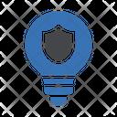 Idea Security Shield Security Icon
