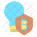 Idea Security Shield Icon