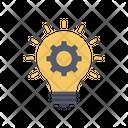Idea Setting Idea Management Idea Generation Icon