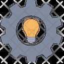 Idea Setting Idea Configuration Cog Wheel Icon